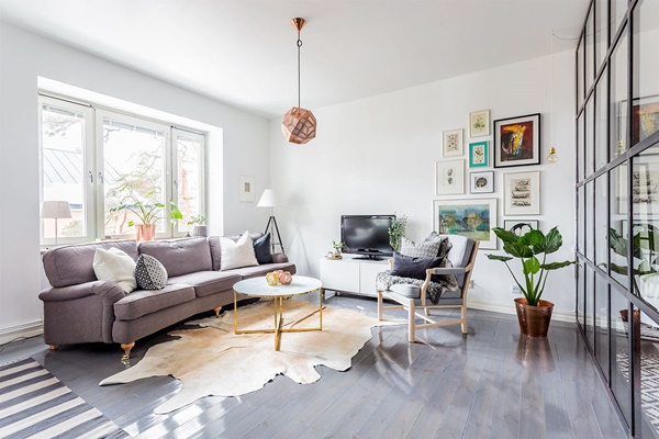 Bạch Dương thích hợp với phong cách nội thất tối giản và tươi sáng