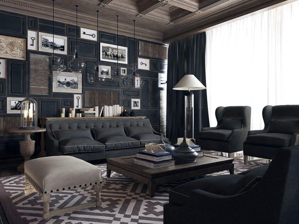 Không gian nội thất bí ẩn và tinh tế là những gì tuyệt vời nhất dành cho cung Bọ Cạp