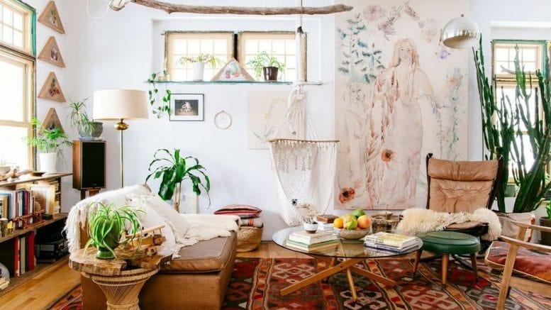 Phong cách Bohemian mang lại nét hoàn hảo cho không gian sống của Nhân Mã
