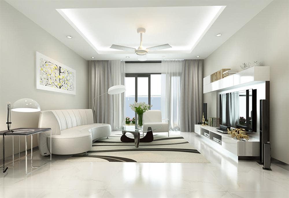 Phong cách nội thất hiện đại mang lại cảm giác tinh tế và tối ưu về mặt công năng