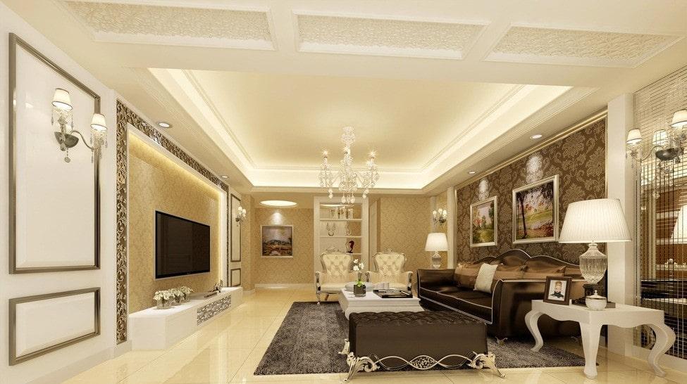 Phong cách nội thất tân cổ điển mang theo sự sang trọng và tinh tế
