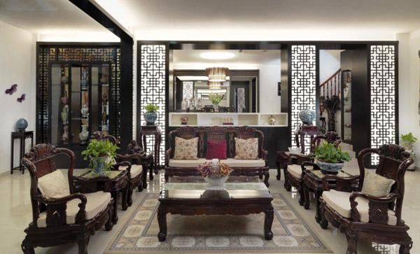 Phong cách nội thất Á Đông được hiện lên với vẻ đẹp tinh tế và sâu lắng