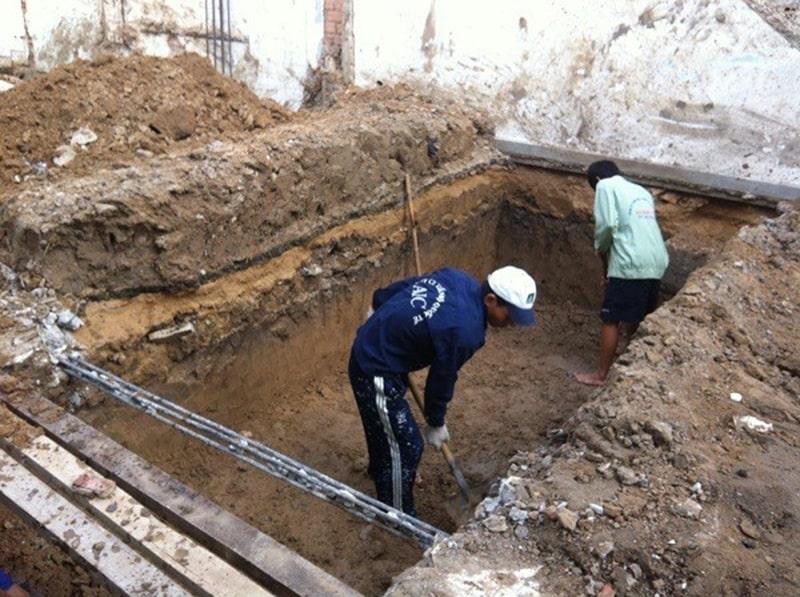 Tính toán khối lượng đào đất giúp đảm bảo được kết cấu của công trình