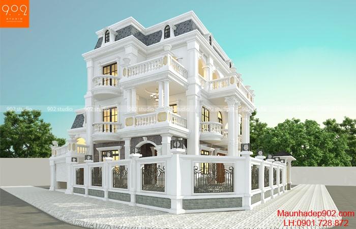 Xây nhà biệt thự cần bao nhiêu tiền