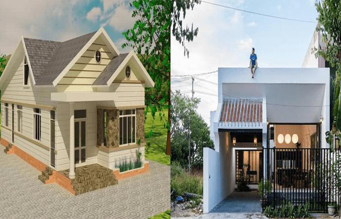 nên xây nhà mái bằng hay mái thái