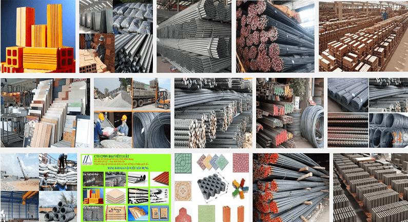 Vật liệu xây dựng đóng vai trò quan trọng trong quy trình làm móng nhà