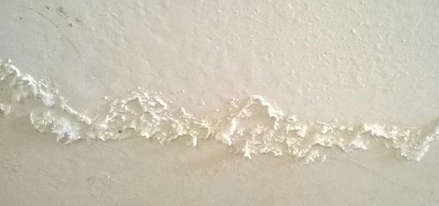 xử lý tường bị muối