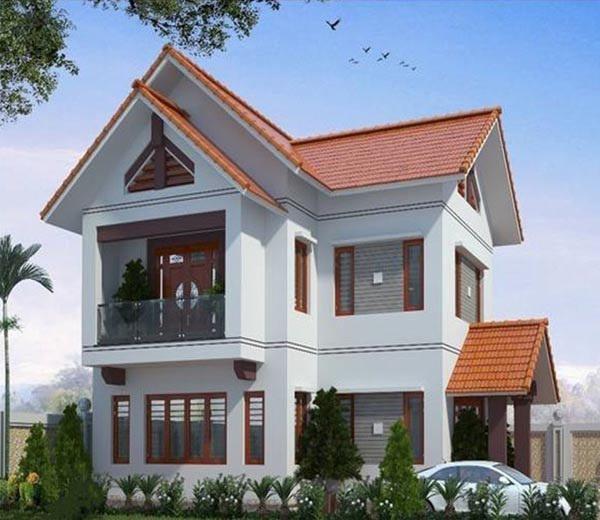 Những lưu ý khi xây dựng nhà 2 tầng mái thái