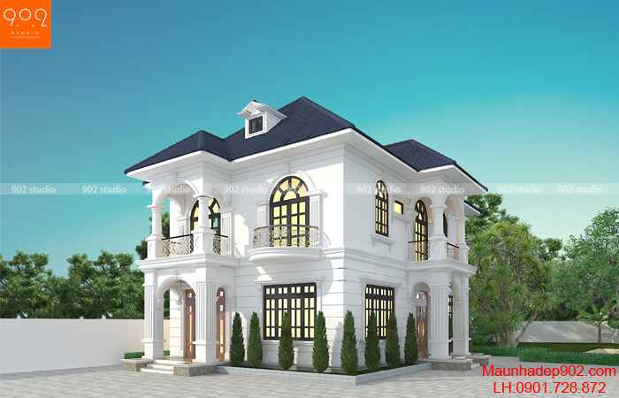 Thiết kế biệt thự 2 tầng - BT205